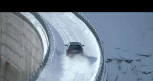 Der Audi RS Q3 im Schnee