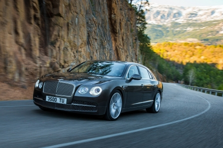 Weltpremiere des neuen Bentley Flying Spur