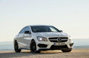 Der neue Mercedes Benz CLA 45 AMG in Aktion