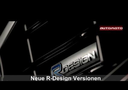 Neue R-Design Versionen für die Volvo 60er-Familie