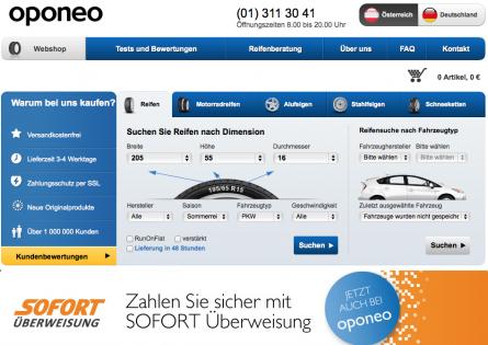 Reifen online kaufen