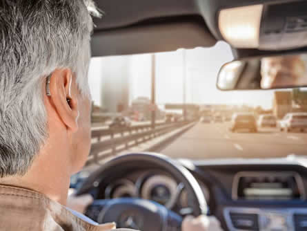 Autofahrer Hoertest