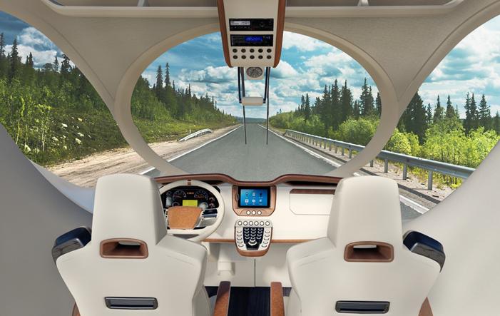 Marchi Mobile Interieur - Marchi Mobile Reisemobile - Mehr Luxus geht nicht